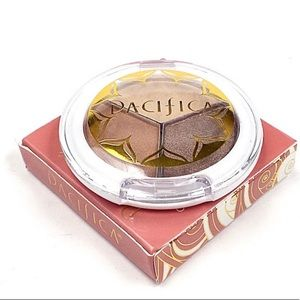 Pacifica natural mineral coconut eye shadow trio.